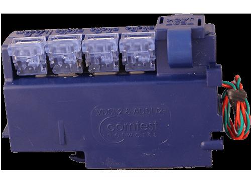 Comtest Networks NID-01VTJ Rev 2.0 POTS Splitter VDSL2 /& ADSL//2 SA-4704-0001
